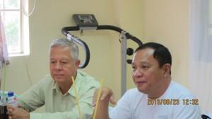 SEA Lead Activator Nicanor Perlas with Mayor John Tarrosa